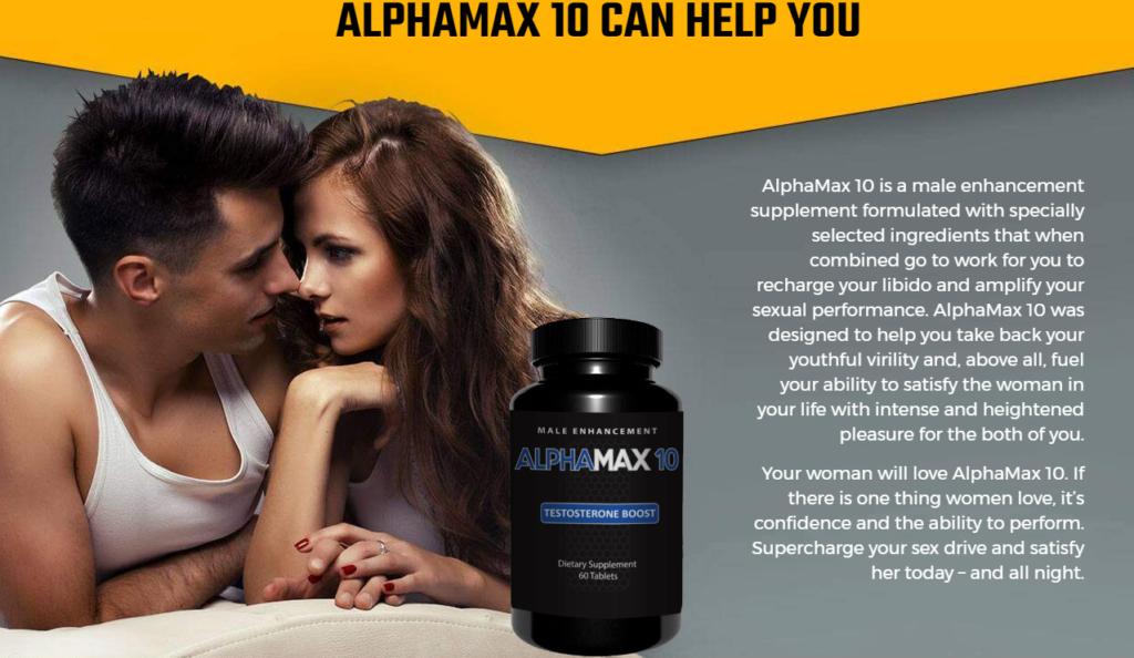 alpha max 10 benefits